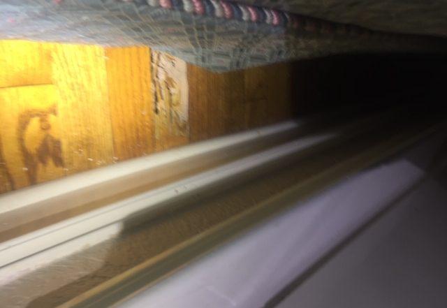 Termite Damaged Floor Woods